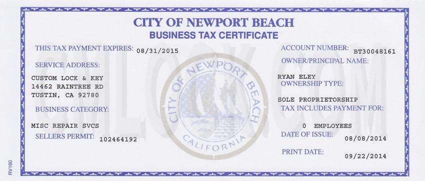 City Of Laguna Beach Ca Business License